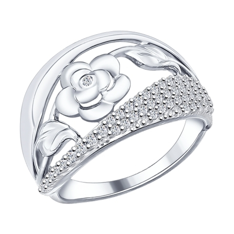 Кольцо из серебра от SOKOLOV арт.94012006