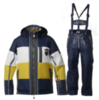 Мужской горнолыжный костюм Almrausch Steinpass-Lois 320109-121136 синий фото