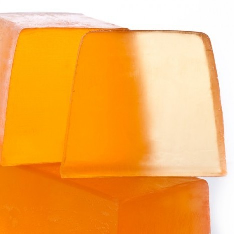 Нарезное прозрачное мыло  Абрикос из Вале (Нарезное мыло) (Autour Du Bain)