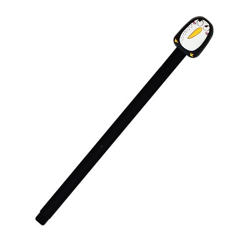 Ручка черная гелевая Penguin