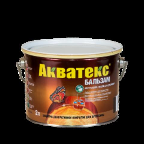 АКВАТЕКС БАЛЬЗАМ Натуральное масло для древесины