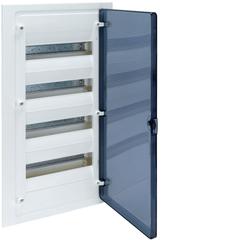 Щит скрытой установки, 48М, с прозрачной дверцей