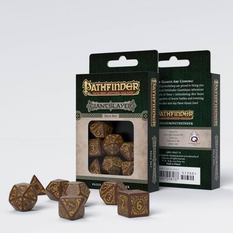 Pathfinder Giantslayer Dice Set