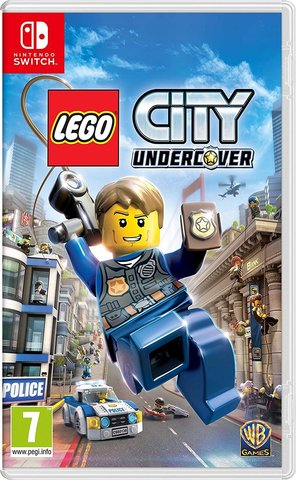 Nintendo Switch LEGO CITY Undercover (русская версия)