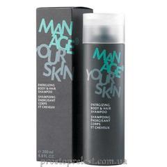 Dr. Spiller Manage Your Skin Energizing Body & Hair Shampoo - Шампунь для тела и волос