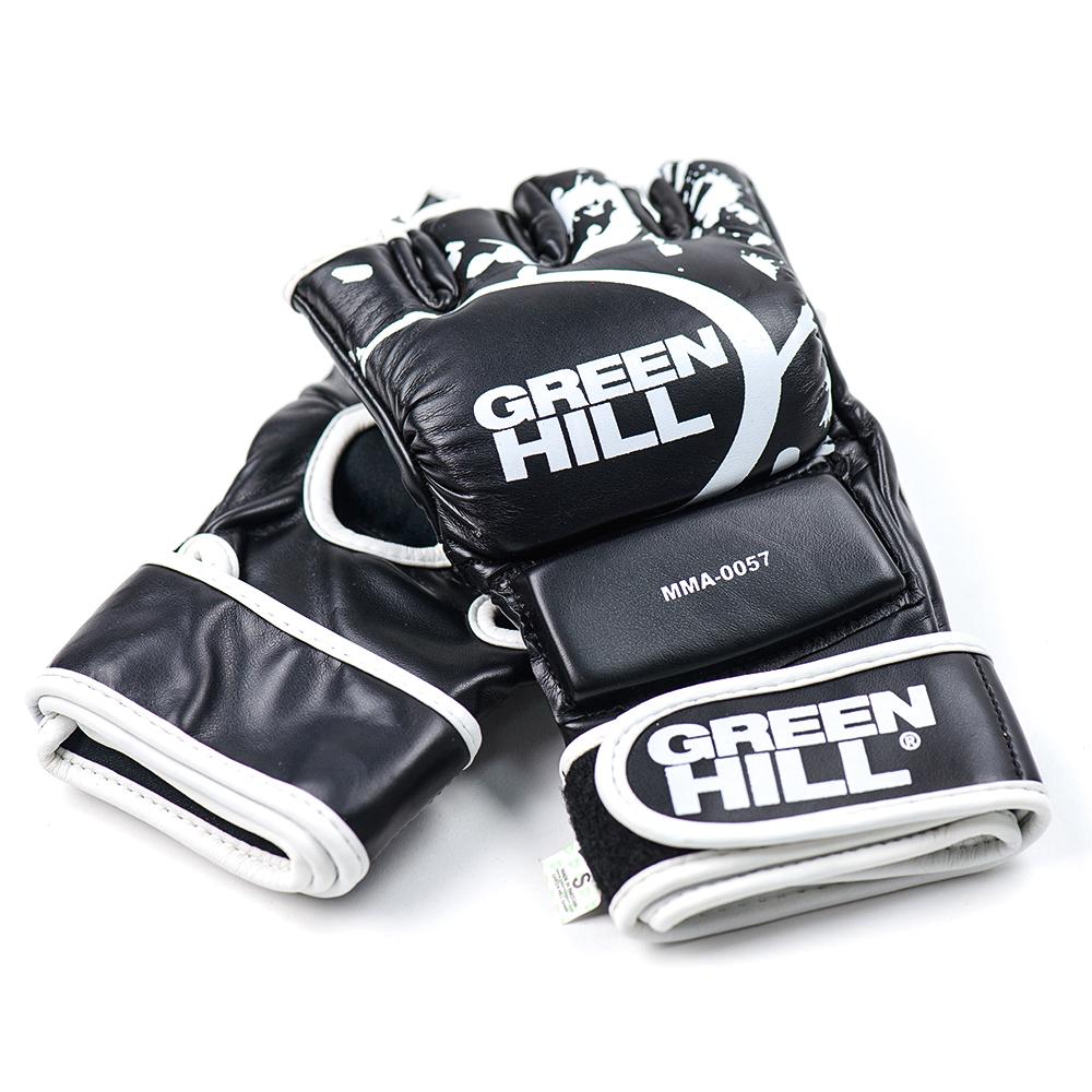 Перчатки Перчатки для самбо черные, Green Hill 268.jpg