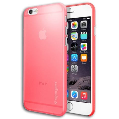 Spigen SGP Case AirSkin 0.4mm for iPhone 6 / 6S Azalea Pink SGP11081