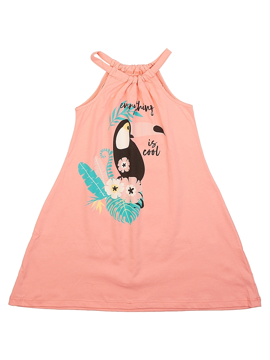Детское женское пляжное платье E19K-44E104