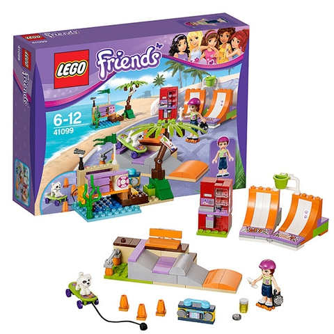 LEGO Friends: Скейт-парк 41099