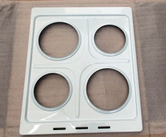 Металлическая варочная поверхность под чугунные конфорки для плиты Мечта 12-06