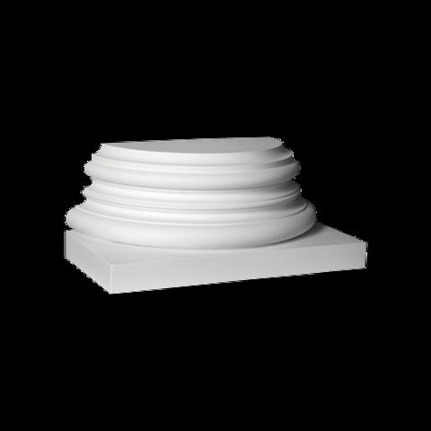 База (полуколонна) Европласт из полиуретана 4.17.301, интернет магазин Волео