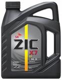 ZIC X7 LS 5W-30 - Синтетическое моторное масло (4л)