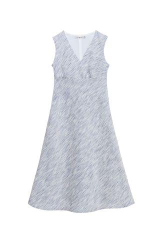 Платье ВОЛНА_bleu