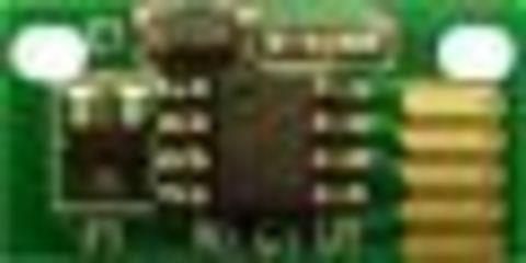 Смарт-чип KM Magicolor 7450 magenta (малиновый) toner chip. Ресурс 12000 страниц (8938623)