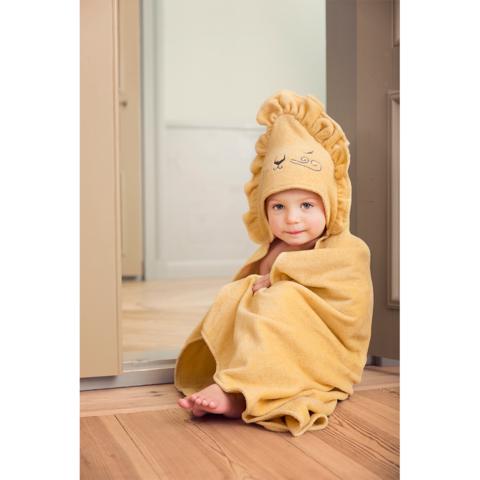 Elodie Details полотенце с капюшоном после купания Sweet Honey Harry