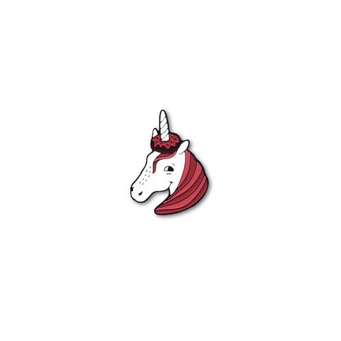 Значок Єдиноріг. Unicorn.