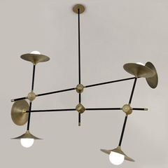люстра DISC TURBAYA SS-6 CHANDELIER by Intueri Light