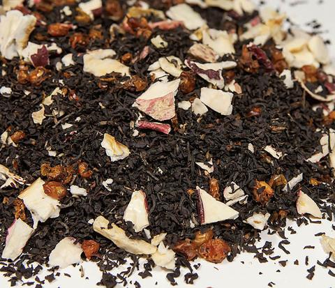 Черный чай «Граф Яблонский» с яблоком и облепихой (50 гр)