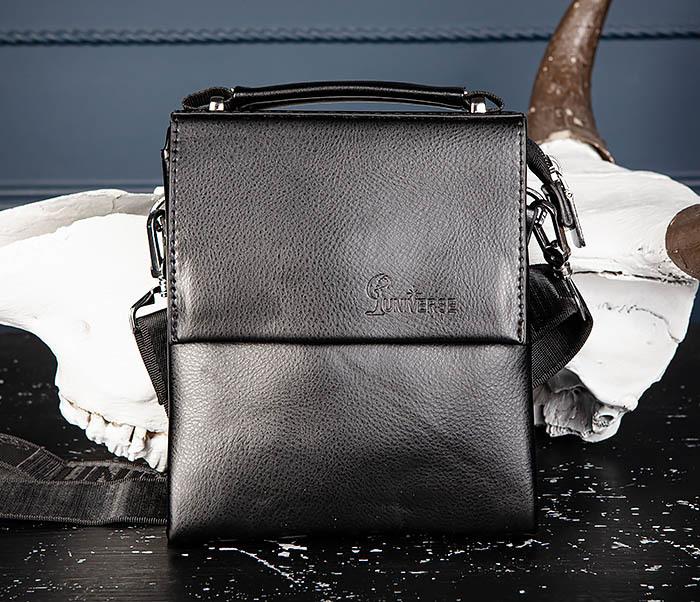 BAG560-1-1 Маленькая сумка планшет с ручкой и ремнем фото 03