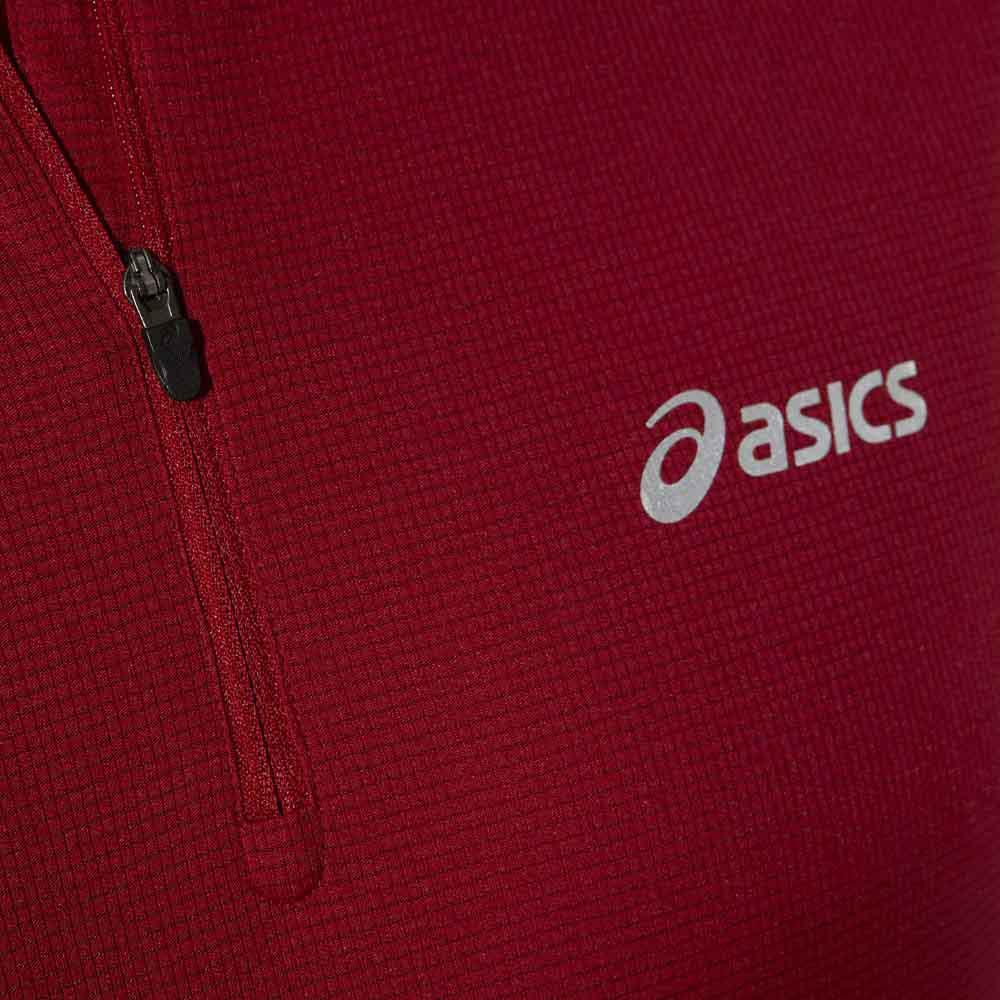 Мужская рубашка для бега асикс Ls 1/2 Zip Top (110410 6010) фото
