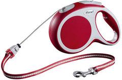 Поводок-рулетка Flexi VARIO M (до 20 кг) 8 м трос красная