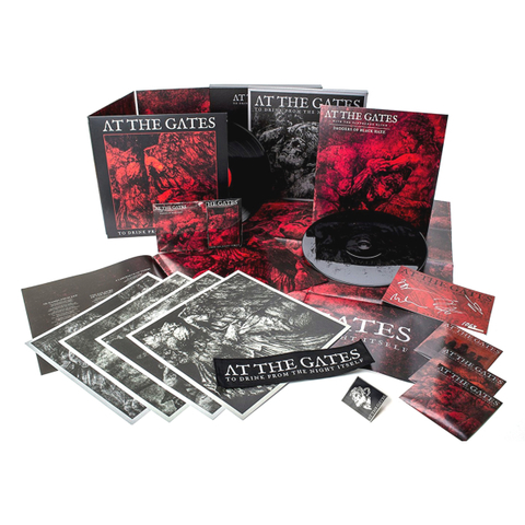 At The Gates / To Drink From The Night Itself (Deluxe Boxset)(2LP+2CD)