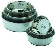Миска из нержавеющей стали для собак, Hunter Smart, 1,1 л, диаметр 17 см