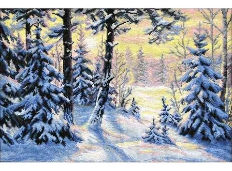 OVEN-698 Зимний лес