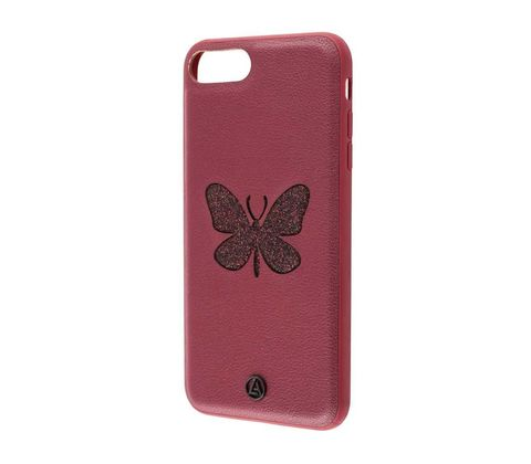 Чехол iPhone 7/8 Luna butterfly Case /red/