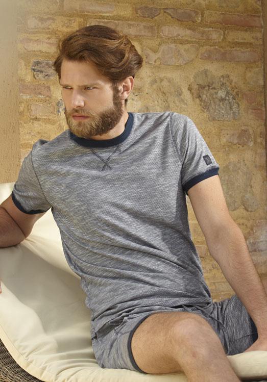 Мужская пижама с шортами Verdiani (Домашние костюмы и пижамы)