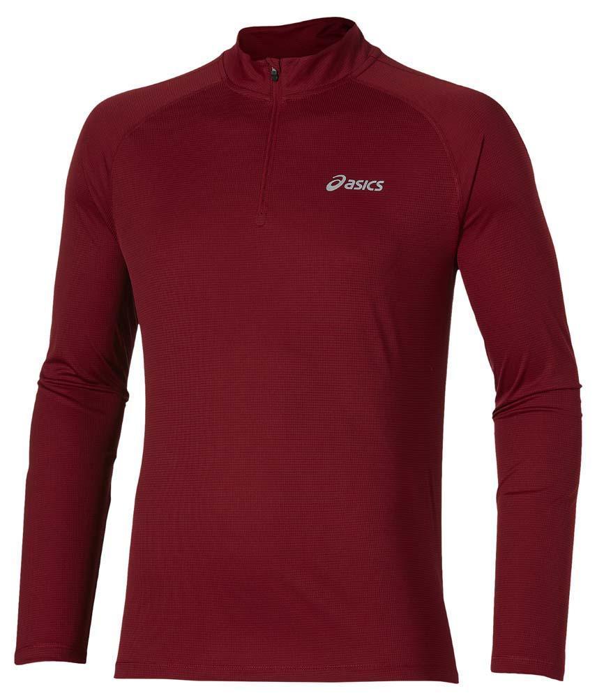 Мужская рубашка для бега Asics Ls 1/2 Zip Top (110410 6010)