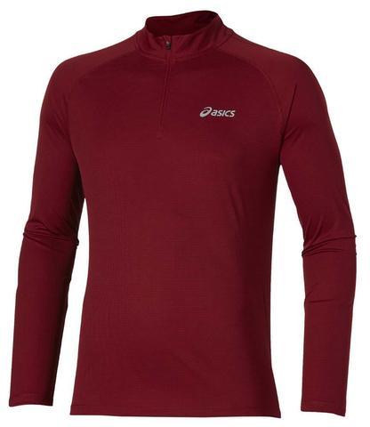Рубашка для бега Asics Ls 1/2 Zip Top мужская (6010)