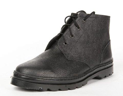 Ботинки юфть/кирза, рабочие, высота 14 см Арт 2.1