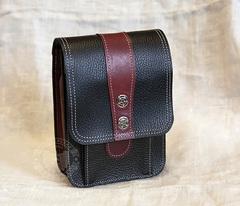 c039870233c9 Мужская набедренная сумка ручной работы из натуральной кожи. Артикул.  BAG369-1. В корзину