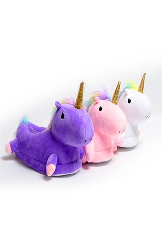 "Тапочки ""Slippers Unicorn Фиолетовые"""