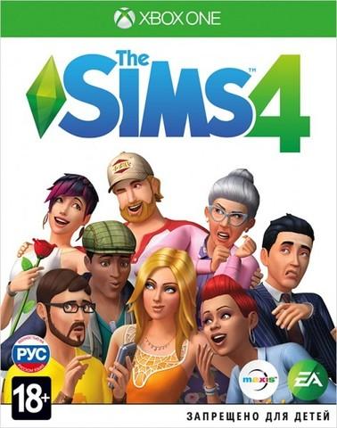 Xbox One Sims 4 (русская версия)