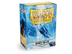 Dragon Shield - Нежно-голубые матовые протекторы 100 штук