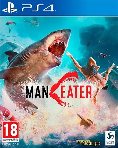 PS4 MANEATER Стандартное издание (русская версия)