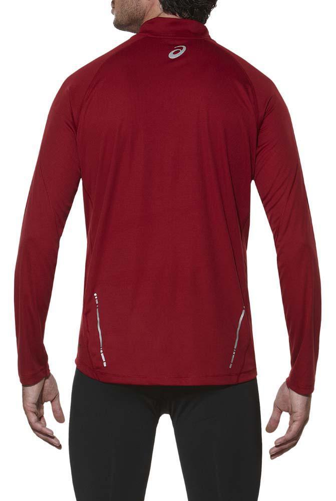 Мужская рубашка для бега асикс Ls 1/2 Zip Top (110410 6010)