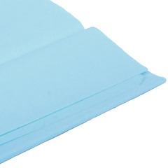 Бумага тишью, голубая 76 Х 50 см, 10 листов 28 г/м