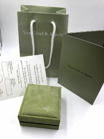 Комплект подарочной упаковки для кольца в стиле VCA (lux)