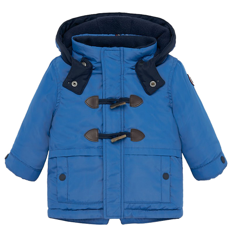 Куртка-парка Mayoral Ярко-синяя демисезонная