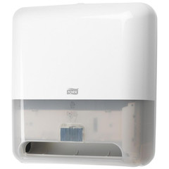 Диспенсер для полотенец в рулон Tork Matic H1 Intuition сенсор 551100 белый