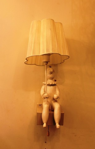 replica Jaime Hayon CLOWN wall lamp  H45 (beige)