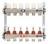 Коллекторы Stout SMS 0917 с расходомерами из нержавеющей стали