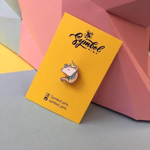 Пін Symbol pins Єдиноріг