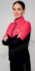 Беговая куртка Nordski Sport Pink/Black 2020 женская