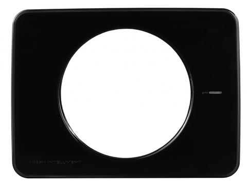 Лицевая цветная панель Fresh Intellivent цвет BLACK