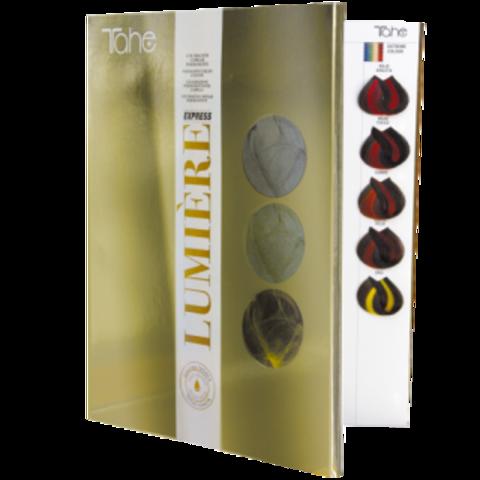 LUMIERE EXPRESS COLOR CHART Палитра красок для волос (120 образцов цвета) Lumiere Express
