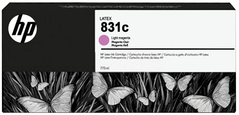 Картридж HP № 831, Light Magenta, 775 мл, CZ699A